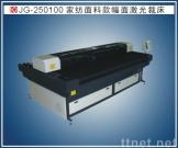 Professinal laser cutting machine for wide size home textile