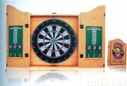 edge sealed cabinet with flocked dartboard JB-B8