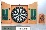 edge sealed cabinet with flocked dartboard JB-B11
