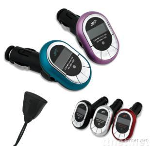 car MP3 player with handsfree transmitter