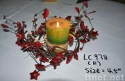 star berries candles