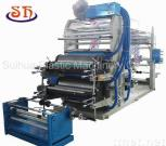 1-4 Color High Accurate Flexographic Printing Machine