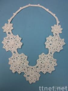 lace collar for garment accessory