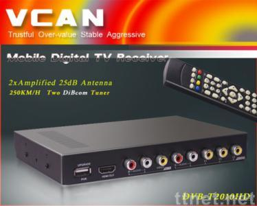 Car DVB-T box MPEG4/H.264 2 tuner PVR USB Recorder