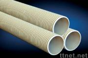 UPVC double wall corrugated pipes