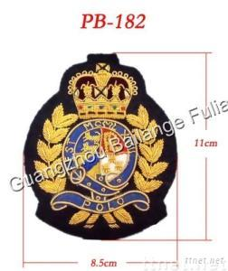 embroidery patch/garment woven patch/fashion patch