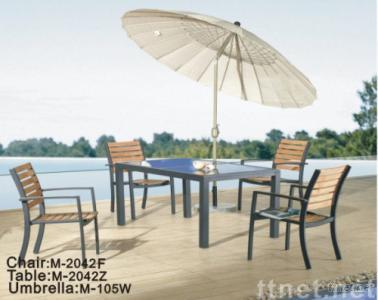 Outdoor Dining Table & Chair