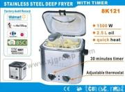 Stainless Steel Deep Fryer With Timer