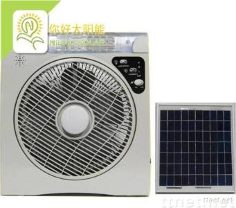Solar Fan With LED Lamp