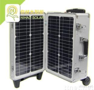 200W Solar Power System PV Off-Grid Generator Trolley Case