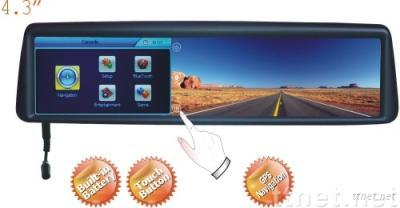 Rearview Mirror with GPS