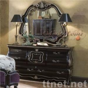 Europrean Style Furniture,Solid Wood Furniture Dressing Table