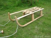 Foldable Wooden Sled