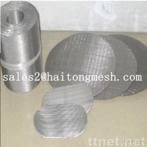 Double Layer Filter Mesh/ Filter Disc