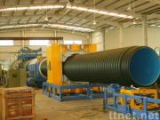 Hdpe / PP Double Wall Corrugated Pipe Extrusion Line