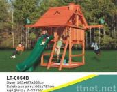 Combination Wooden Slide