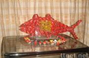 Decoration Item, Fish Glass