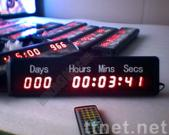 Countdown Timer LED Clock