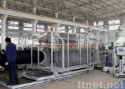 PE Double Corrugated Pipe Extrusion Line