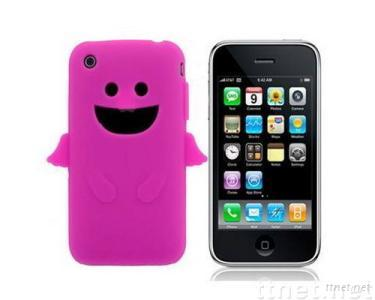 Angel Silicone Skin Case For iPhone 3G/3GS