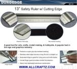 Safety Ruler / Safety Ruler With Cutting Edge