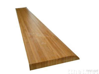 Carbonized Vertical Bamboo Skirting