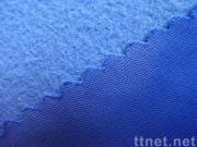 100% Polyester Brushed Tricot  Fabric/Golden Velvet