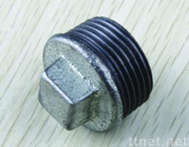 Galvanized Threaded Malleable Pipe Fittings Plugs Cover