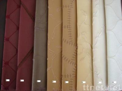 PU Embroidering Leather