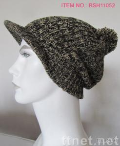 Men's Winter Casual&Fashionable Bobble Cap