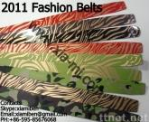 Fashion Plastic Belt