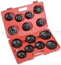 14pcs Cap Type Oil Filter Wrench