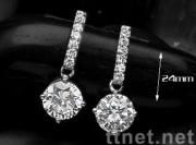 Trendy Jewelry Fashion Zircon Earrings