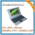 Android 2.2 OS 7 inch Laptop