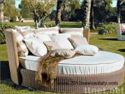 Rattan Outdoor Bed Lounger