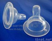 Wide Neck Silicone Nipple for Baby