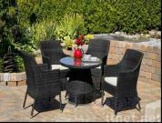 Rattan Table And Chair, Outdoor Furniture