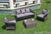 Rattan Sofa, Rattan Table, Outdoor Furniture