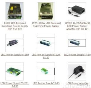 LED Enclosed Switching Power Supply