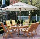 Outdoor Furniture Wooden Table Chair
