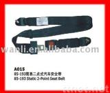 Static 2-Point Safety Seat Belt